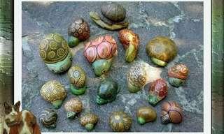 ציור על אבנים