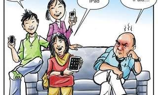 צרות של עשירים - הקריקטורה המצחיקה של היום!