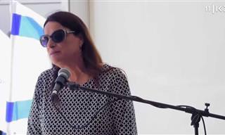 זהו סיפורה המרגש של רונה רמון - האישה שצמחה מתוך חורבן