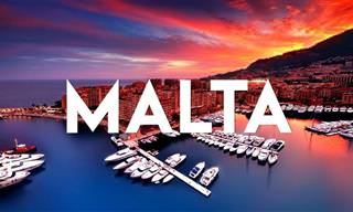 יעד החלומות - האי מלטה בסרטון 4K איכותי ומרהיב