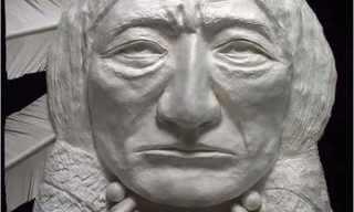 פסלי נייר מדהימים של אינידאנים!