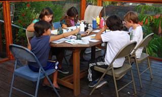 8 יצירות צבעוניות שתוכלו להכין יחד עם ילדיכם