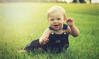 8 סימנים שלפיהם תוכלו לדעת שתינוקכם בריא ומתפתח נכון
