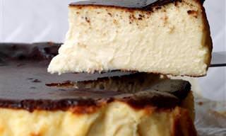 עוגת גבינה באסקית קלאסית