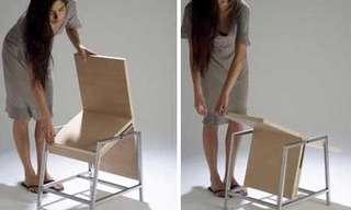 רהיטים מדליקים שמתקפלים ומשתנים - אדיר!!