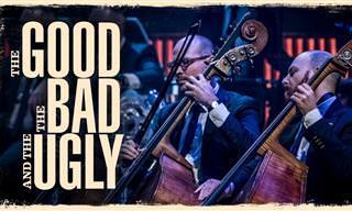 """התזמורת הסימפונית הדנית בביצוע לנעימת הנושא של """"הטוב, הרע והמכוער"""""""