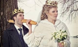 התמונות המצחיקות האלו מוכיחות שיש דברים שרואים רק בחתונות רוסיות...
