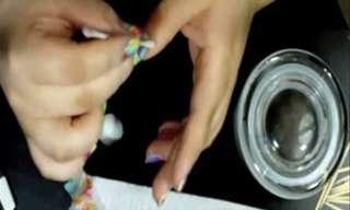 איך לעצב את הציפורניים בצבעי הקשת?