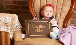 תינוקת מהאגדות - תמונות מקסימות!
