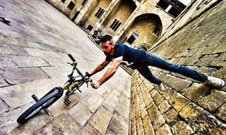 רוכבי האופניים האלה יראו לכם דרך חדשה להכיר את ברצלונה