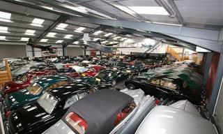 אוסף המכוניות המדהים של ג'יימס הול