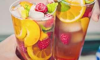 13 מתכונים לתה קר וטעים