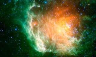 תמונה באינפרה-אדום של סיקור השמיים הגדול של נאסא