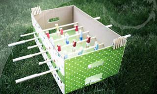 צרו 6 משחקים כיפים שתוכלו לשחק עם ילדיכם בתוך הבית
