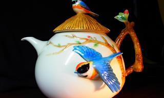 20 קנקני תה בעיצובים מקוריים וצבעוניים