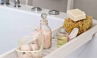 7 אמבטיות לניקוי רעלים מהגוף בצורה טבעית