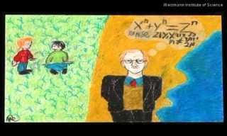 ילדים ישראלים מציירים מדענים
