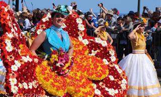 תמונות ותיעודים מפסטיבל הפרחים במדיירה 2019
