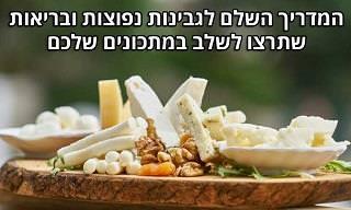 9 סוגי גבינה בריאים והערכים התזונתיים שלהם