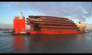 ספינת תובלה לכלי שייט - עצום!