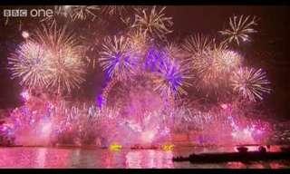 2012: מופע זיקוקים מרהיב בלונדון!