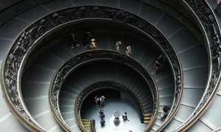 מדרגות לולייניות מדהימות מהעולם!