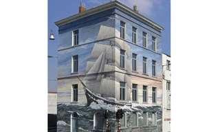 בניינים בתחפושת- ציורי קירות מהממים !!!