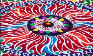 פסטיבל המנדלה ההודי - חווייה לכל החושים