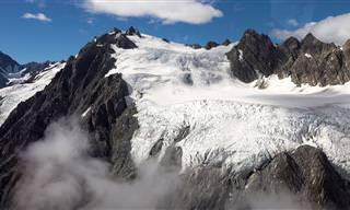צפו ביופי המרהיב של קרחוני הענק בניו זילנד
