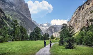 המפה האינטראקטיבית הזו תיקח אתכם אל שווייץ היפה