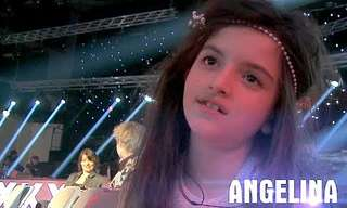 הילדה הזו פשוט נולדה לככב על הבמה!