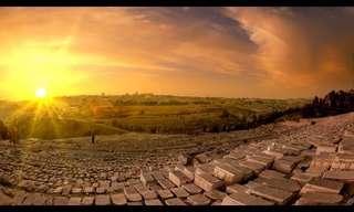 ישראל - נופים מקסימים והיסטוריה עשירה