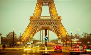 אוסף סרטונים של 18 אתרים מדהימים בצרפת
