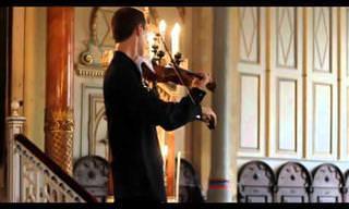 צלצול טלפון באמצע מופע כינור קלאסי
