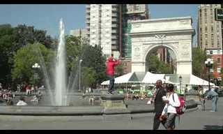 תקיעת שופר ברחובות ניו יורק