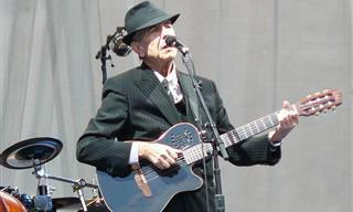 24 שירים מרגשים ואהובים של לאונרד כהן מכל הזמנים