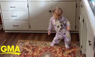 לתינוקות המקסימה הזו יש את חוש הקצב הכי טוב שראינו לאחרונה