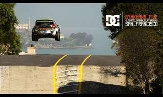 נהיגה מטורפת בסן פרנסיסקו!