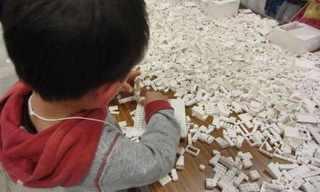 ילדים בונים מחדש את יפן - פרוייקט מקסים!