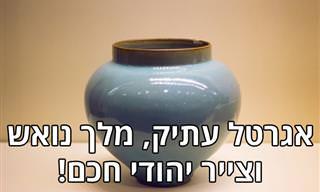 בדיחה על מלך נואש וצייר יהודי שהצליח לעשות את הבלתי אפשרי