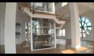 מגדל השעון שהפך לדירת פאר - מדהים!
