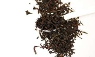 ייבוש והכנה של תערובת תה ביתית