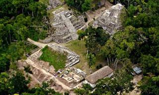 15 תמונות מהחורבות המרתקות של תרבות המאיה
