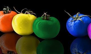 תמונות שמציגות את האופן בו בעלי עיוורון צבעים רואים את העולם