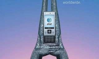 ציורי הידיים המדהימים של חברת הטלפונים AT&T