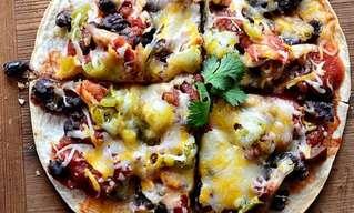 מתכון לפיצה מקסיקנית על בסיס טורטייה