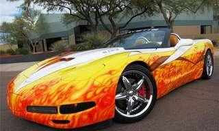 17 מכוניות עם דוגמאות צבע מדהימות