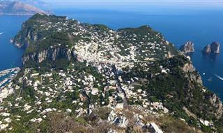 סיור באי קאפרי באיכות 4K מדהימה