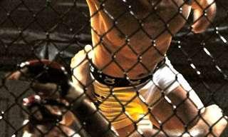 לוחם MMA עם יד אחת והרבה כח רצון