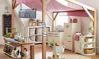 חדרי ילדים בעיצוב גני שעשועים!